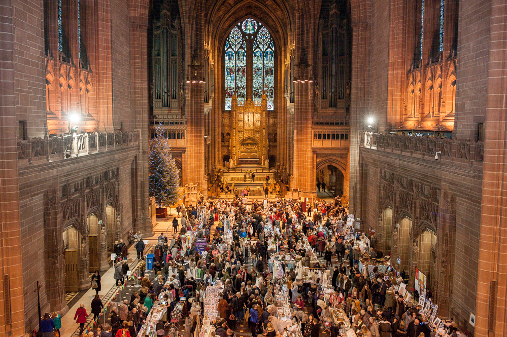 Craft Fair Liverpool Cathedral